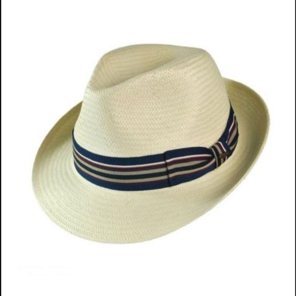 1738ef859 NWOTs SCALA Toyo Ivory Handmade Fedora Hat